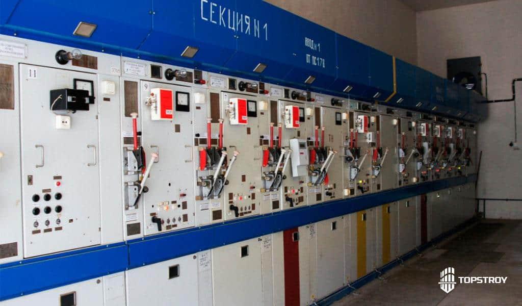 Электроснабжение распределительного пункта