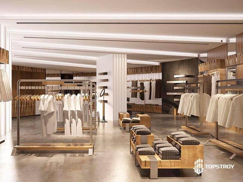 Проектирование магазина одежды