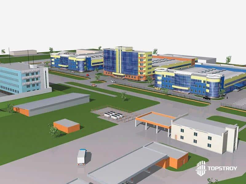 Проектирование промышленного комплекса