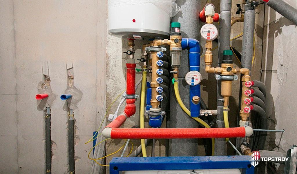 Система водоснабжения квартиры многоэтажного дома