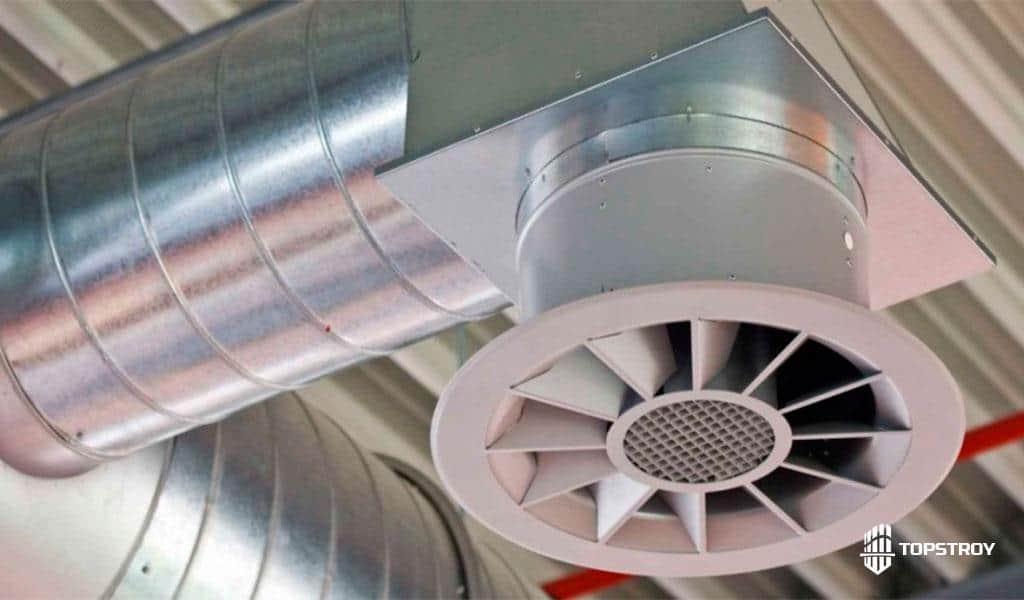 проектирование промышленных систем вентиляции