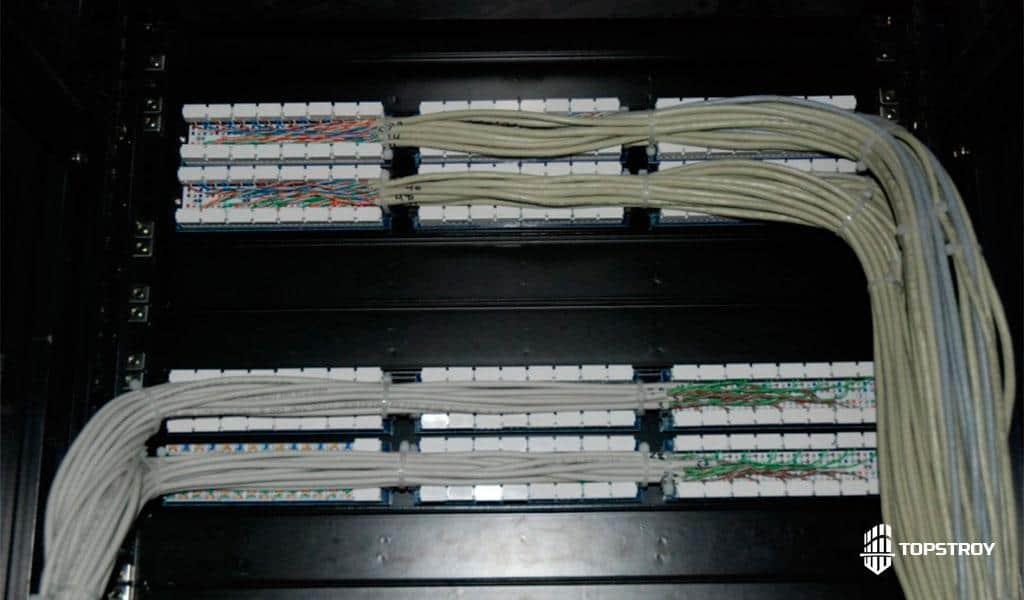 проектирование структурированных кабельных сетей