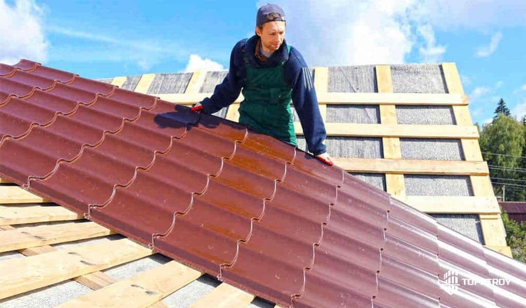 ремонт металлочерепичной крыши