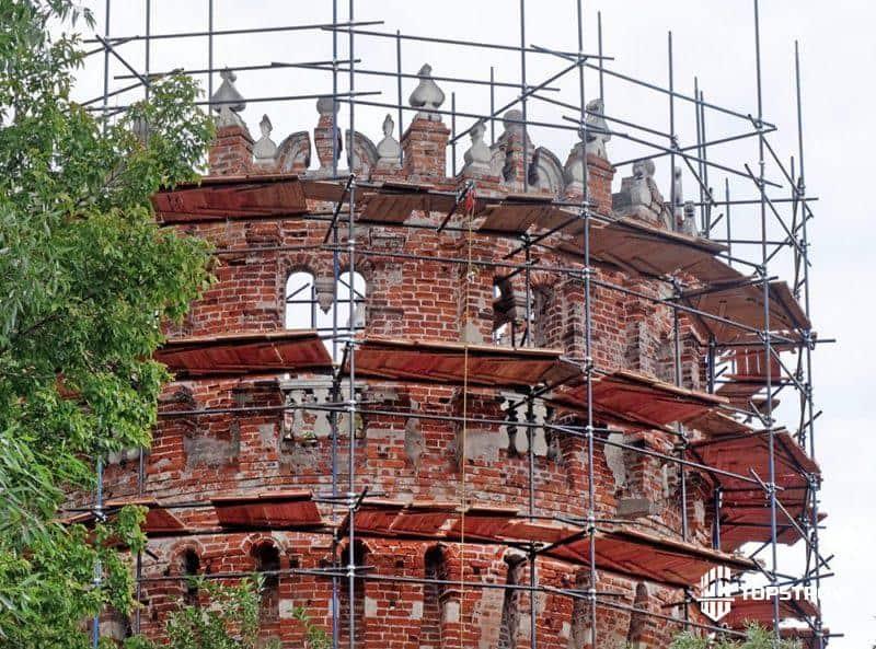 проведение реставрационных работ