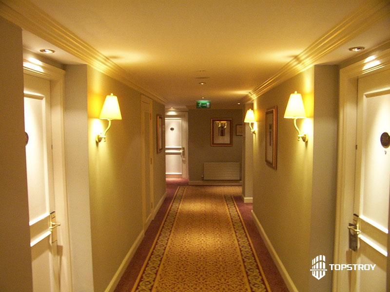 Отделка гостиницы