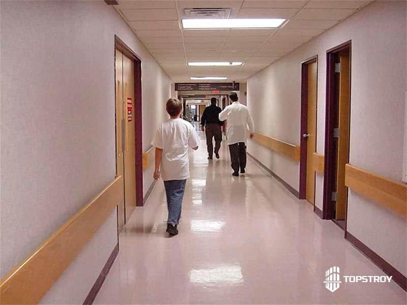 Ремонт больниц под ключ