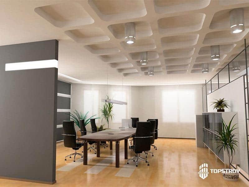 Ремонт зала для совещаний