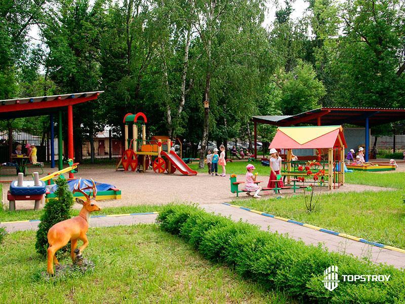 Благоустройство территории детского сада