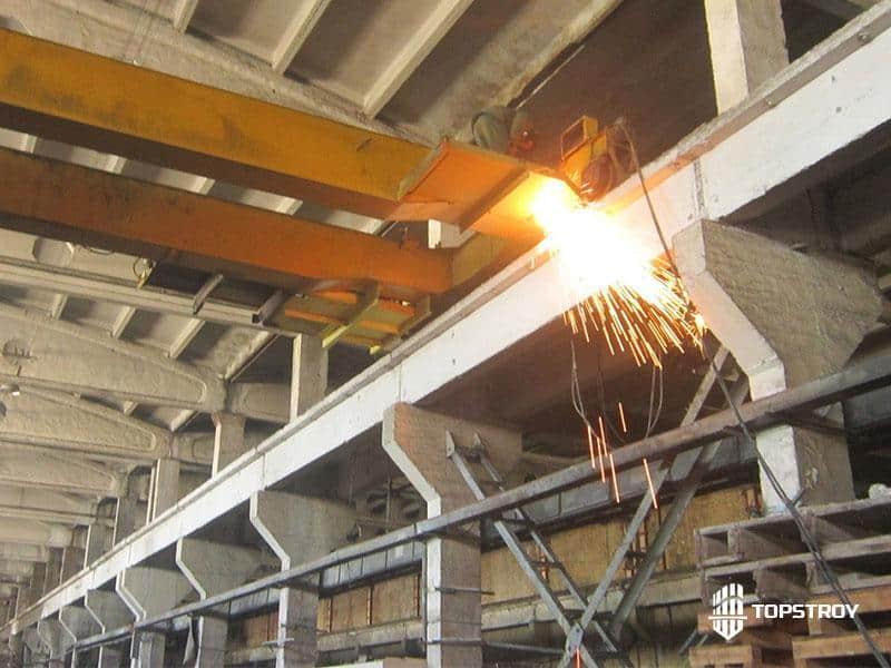 Демонтаж сложных металлоконструкций