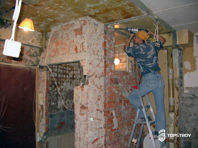 Капитальный ремонт стен