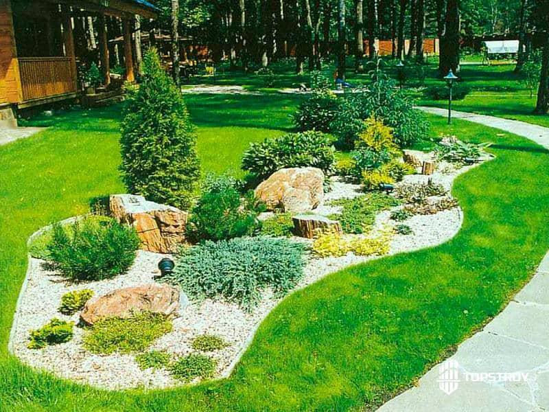Ландшафтное озеленение территории