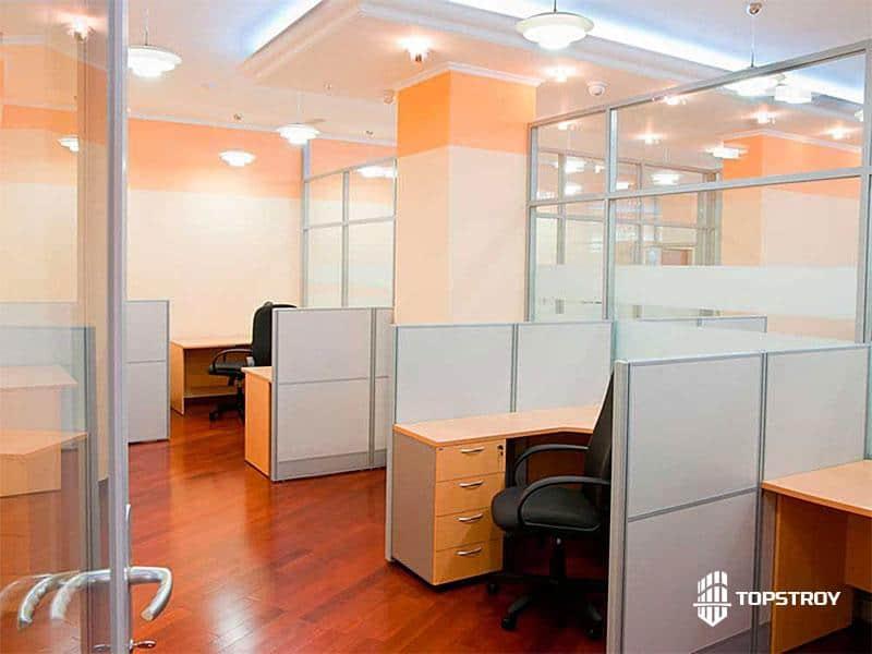 Ремонт офиса логистической компании