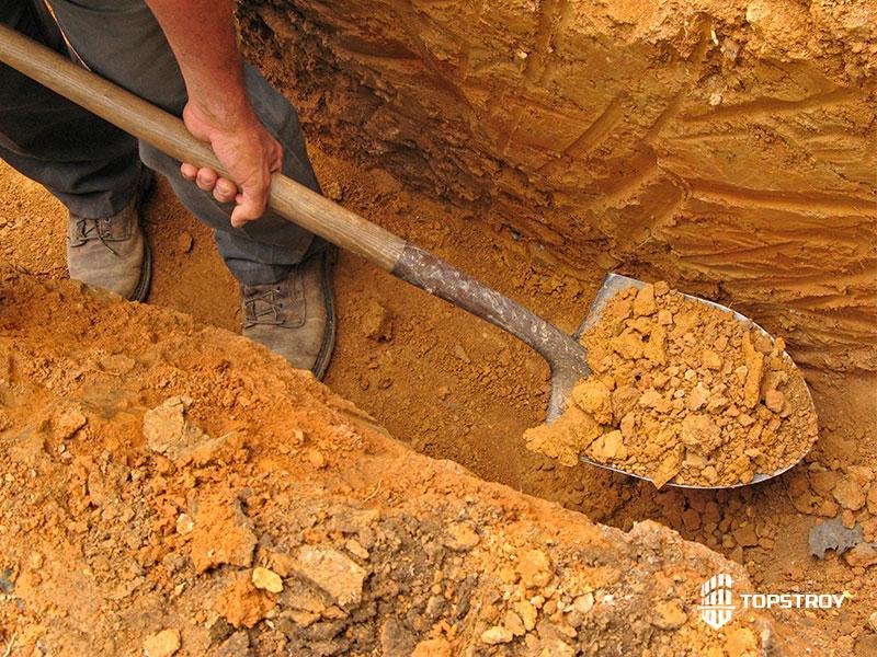 Ручная разработка грунта