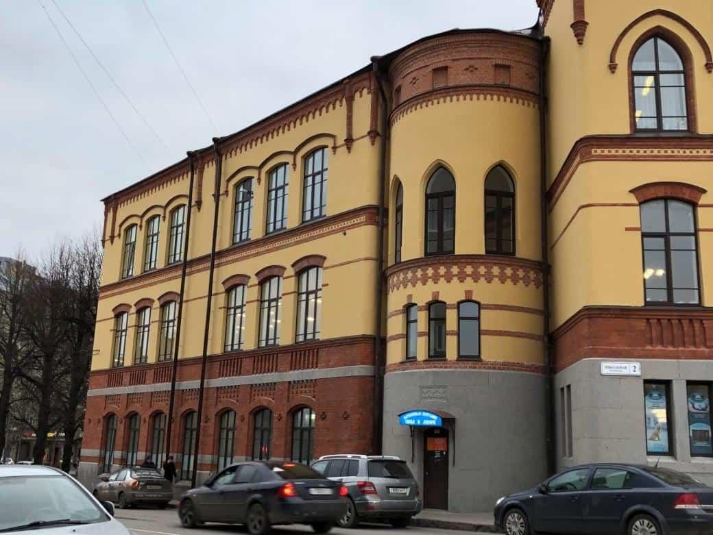 Реставрация фасада Александровского лицея в г. Выборг