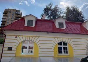 Реставрация здания, объекта культурного наследия