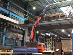 Завершающий этап строительства антресольного этажа (Мезонина)