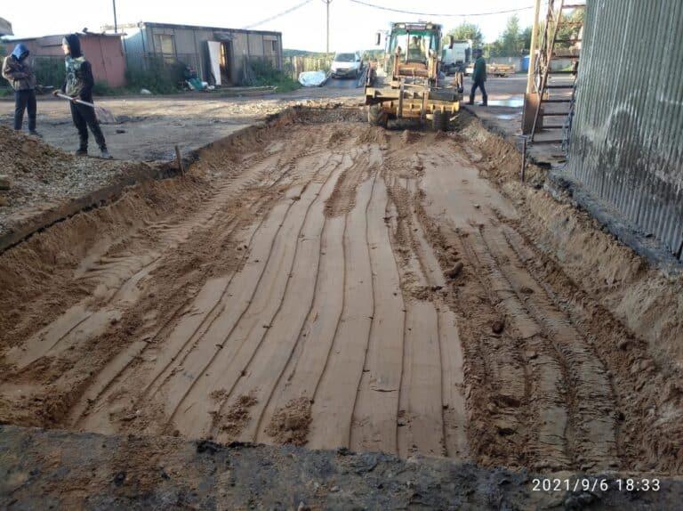 Устройство фундамента и монтаж оборудования на заводе «АВАНГАРД-АГРО-Тула»