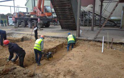 строители компании Топстрой Москва занимаются устройством фундамента